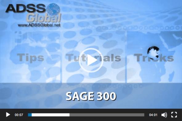 Sage 300 Training Videos (Accpac) & Sage CRM Training Videos