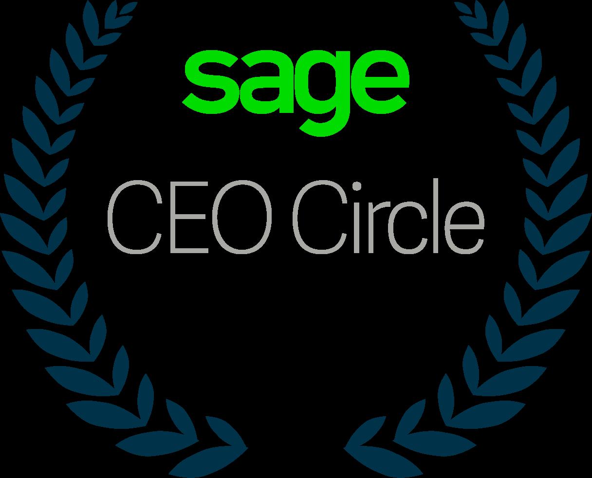 Sage CEO Circle Logo